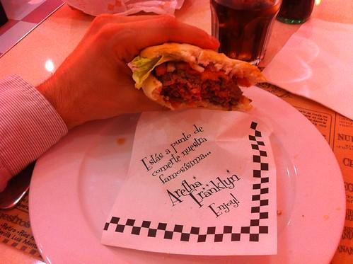 Sevilla | Peggy Sue | Hamburguesa Aretha Franklin