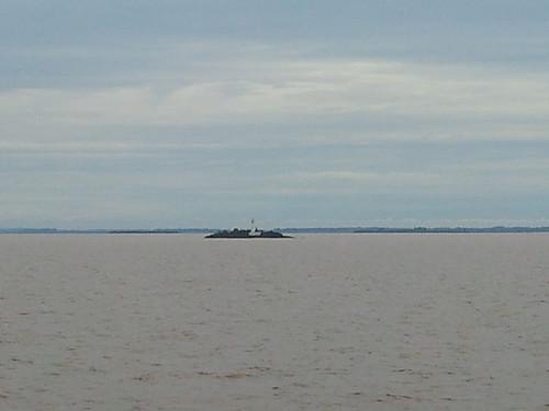 Río de la Plata, vistas a Uruguay
