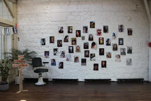 Le mur de portraits