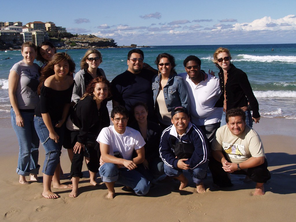 Fullerton University Singers at Manly Beach