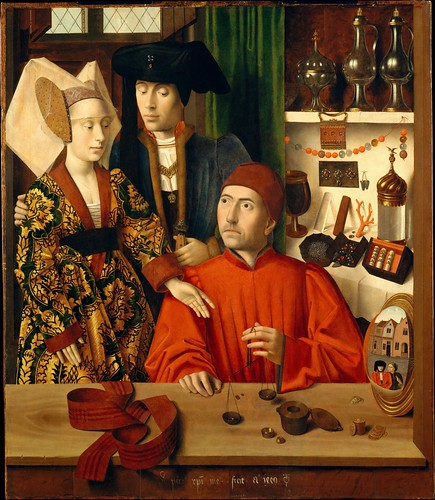 "Petrus Christus ""A Goldsmith in His Shop"" 1449 by Art & Vintage"