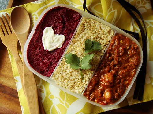 Moroccan Beef Chili Bento