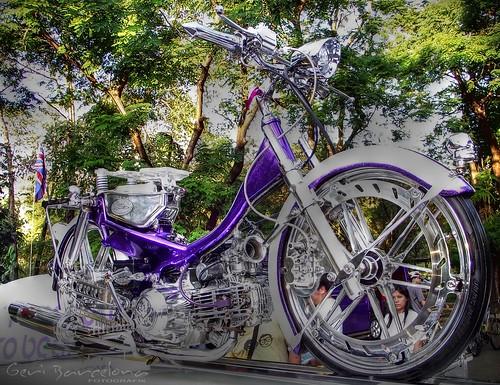 custom bike HDR