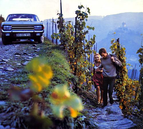 1969 Opel Rekord, near Cochem by Martin van Duijn