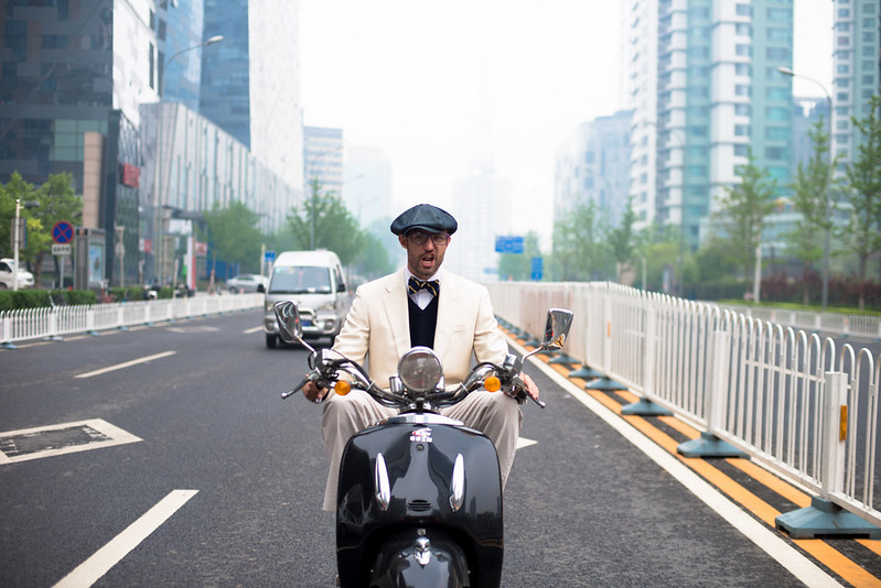 Riding the Streets of Beijing