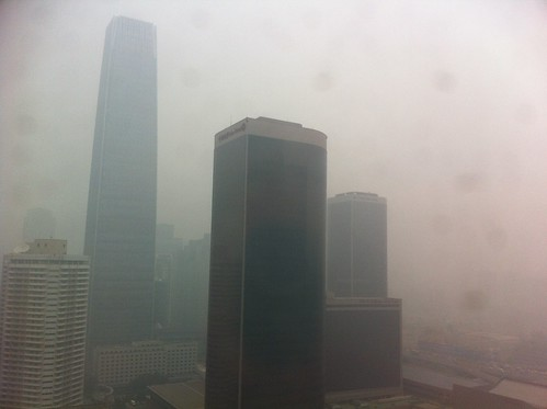 Smog in Beijing (April 23, 2012)