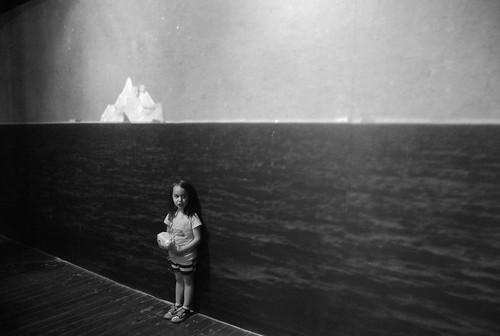 museum - madeline and iceberg