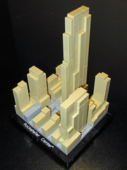 Lego Architecture 21007 - Rockefeller Center by InSapphoWeTrust, on Flickr