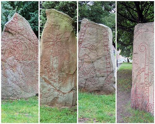 runic stones in uppsala