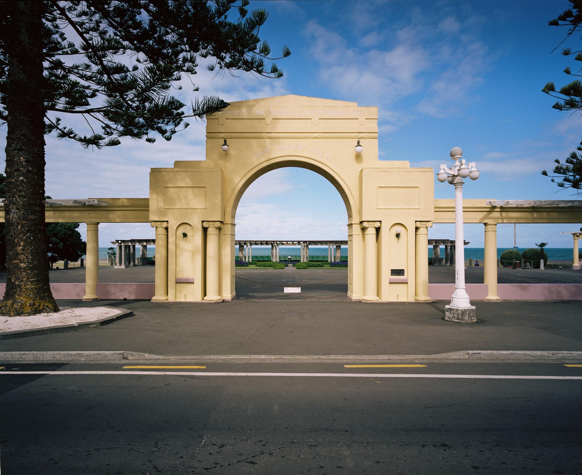 New Napier Arch