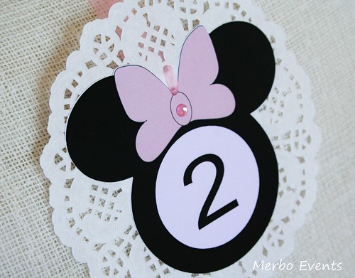 Banderin Kit imprimible minnie Mouse Merbo Events