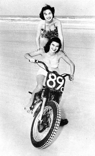 Francess Spell and Wanda Schaidt, 1956
