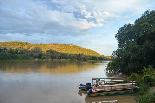 Lodge de la rivière Kunene