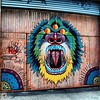 3rd eye open #mandrill #mural #graffiti #StreetArt #chuckberrett #nmsalgar #Williamsburg #Brooklyn #NYC