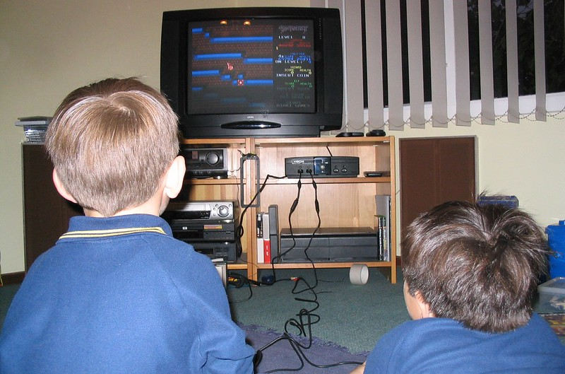 Playing Gauntlet on the XBox, May 2004