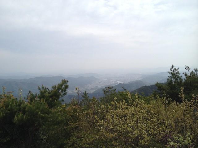 納古山からの眺望 南