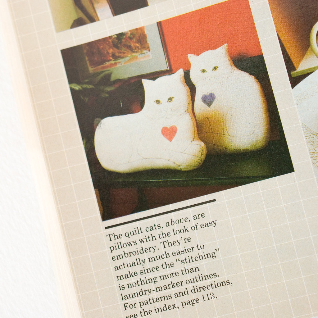 Kitty Stand Up Plush - vintage inspiration