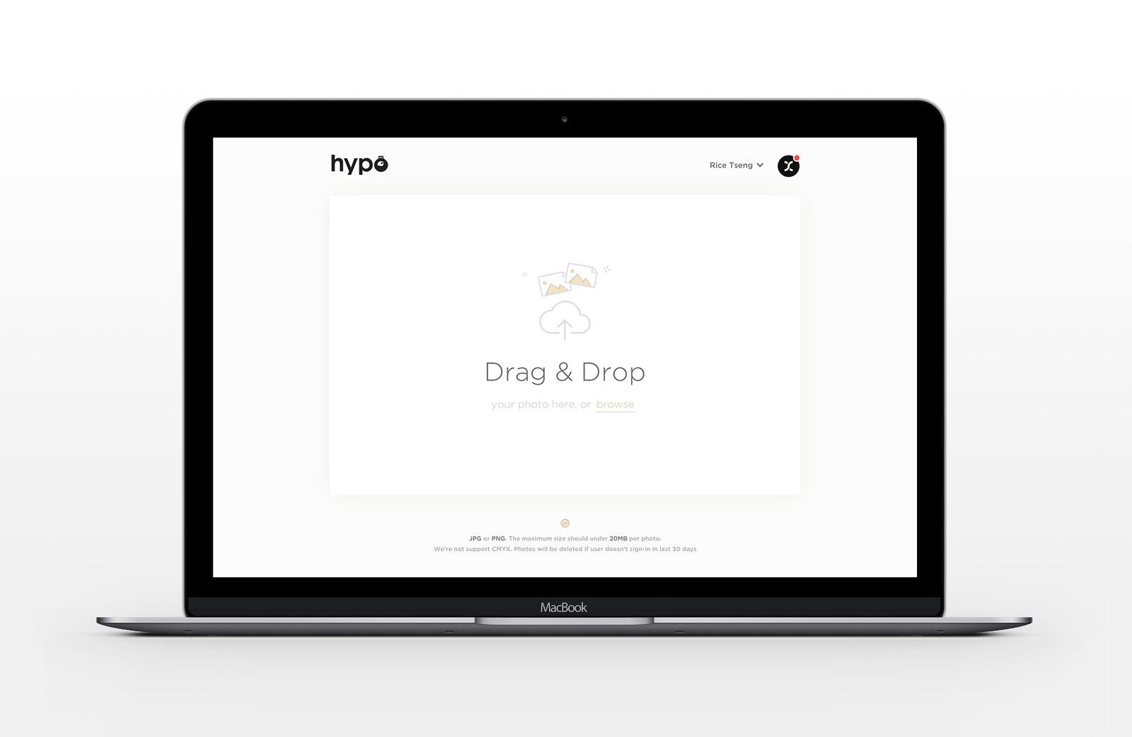 hypo new uploader