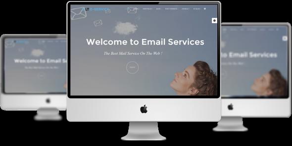 LT eService v1.0 – Business Online Service Joomla Template