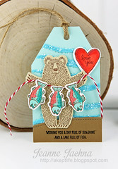 Fishing Bear Tag