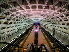 Capitol South Metro Station - Washington DC