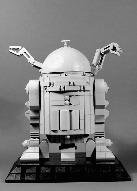 Star Wars R2-D2 Ralph McQuarrie Concept