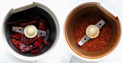 Making Chili Powder