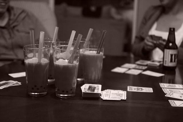 tapioca + milk tea