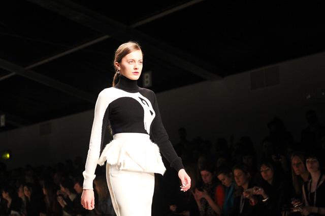 david koma AW12 london fashion week