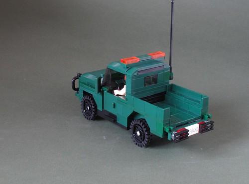 Green Army 4x4: 4