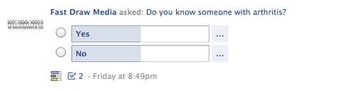 Facebook Poll Screenshot