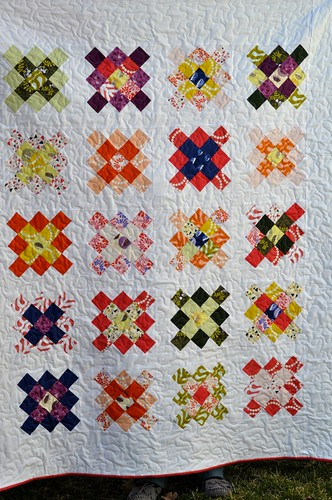 Outfoxed quilt 1