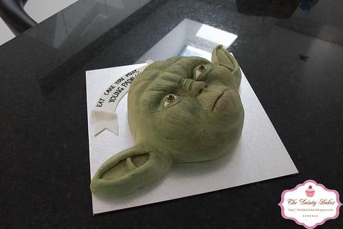 Yoda Cake-5