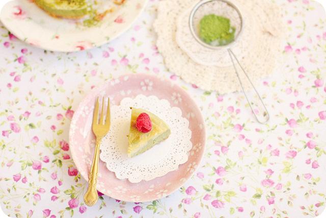 Matcha au Lait Cheesecake