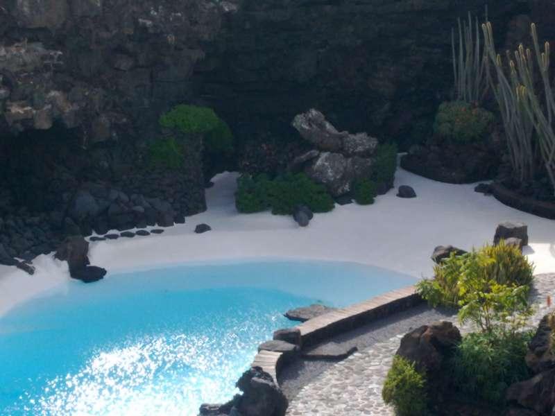 Piscina Jardines Jameos del Agua en Lanzarote 16