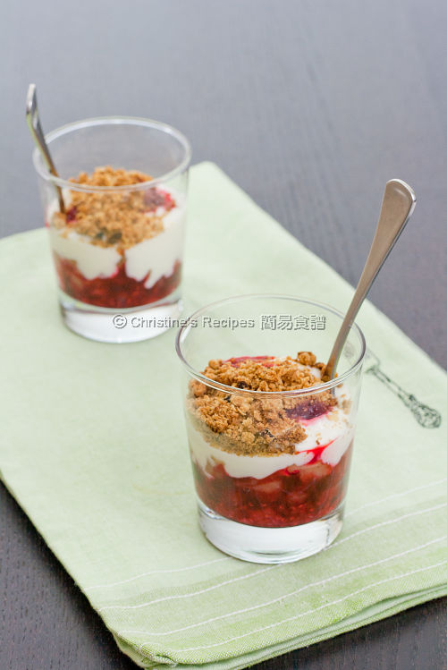 Apple Raspberry Crumble01