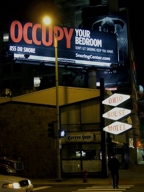 occupy your bedroom