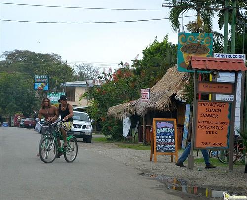 Main Road of Cahuita caribbean coast costa rica