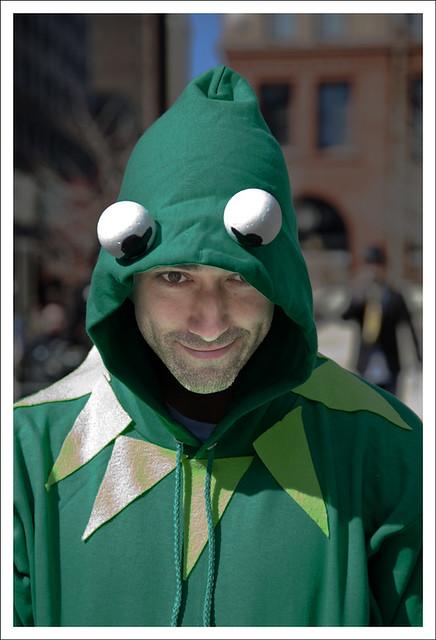 2012 Idiotarod 4 (Kermit)