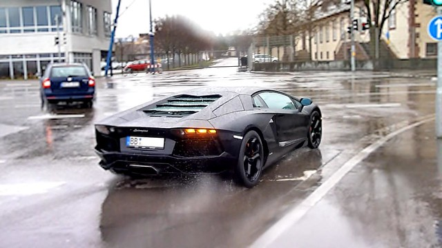 Black Lightning in the Rain