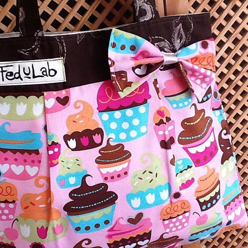 Cupcakes bags #sewing #cute #sweet #fashion
