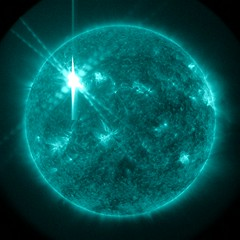 X Class Solar Flare Sends 'Shockwaves' on The Sun