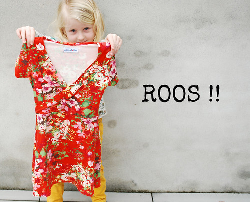 winnaar giveaway fragilejurk Roos