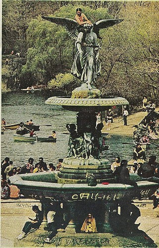 Bethesda Fountain, Central Park, NYC, 1972