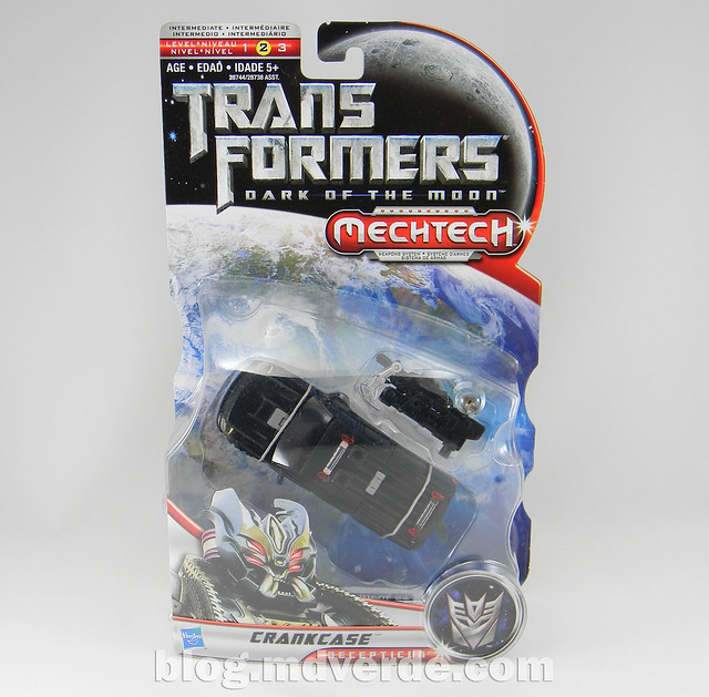 Transformers Crankcase Deluxe - Dark of the Moon - caja