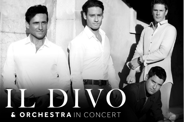 Il Divo and Orchestra in Concert banner © citicenter.org