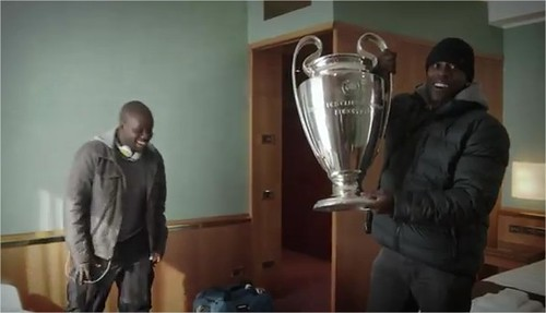 uefa champions league trophy heineken