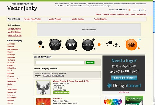 Vector Junky screen cap
