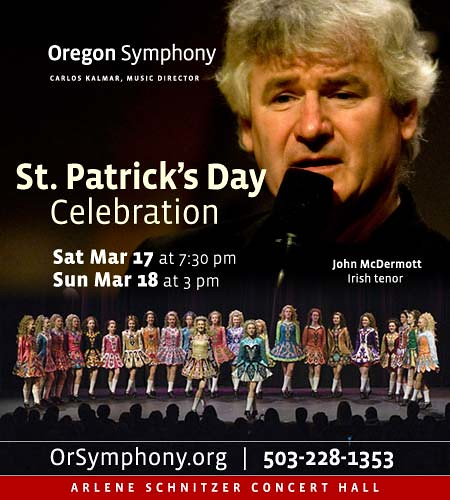 Oregon Symphony St. Patricks Day