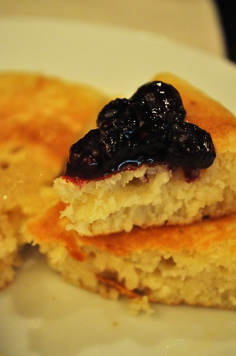 pancake blueberry compote